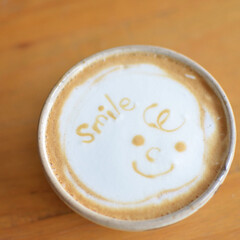 エスプレッソマシン/ラテ/おウチカフェ/おうちカフェ/至福のひととき/おやつタイム/... 数年前にエスプレッソマシンを買って ハー…