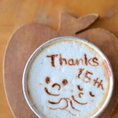 エスプレッソマシン/コーヒータイム/結婚記念日/おうちカフェ/カフェラテ/はじめてフォト投稿/... 結婚記念日の日に飲んだ おうちカフェラテ…