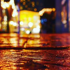 横浜/夜景/令和元年フォト投稿キャンペーン/令和の一枚/はじめてフォト投稿/フォロー大歓迎/... 雨上がりの道