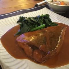 味噌煮/サバ/レシピ/料理 鯖の味噌煮  *材料*2人 鯖  2切 …