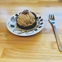モンブラン/おやつタイム/北欧雑貨/北欧インテリア/カフェ風インテリア/柳宗理/... 見てても美味しい。 食べても美味しい。 …