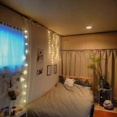 フォロー大歓迎/LIMIAインテリア部/雑貨/LIMIA手作りし隊/ハンドメイド/DIY/... イルミネーションライトでお部屋を癒し空間…