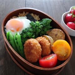 手作り弁当/朝時間/野菜たっぷり/わっぱ弁当/わっぱ/フォロー大歓迎/... . . 夫弁当 . わっぱデビューしまし…