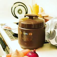 cooking/クッキング/料理/家事/キッチン/時短家事/... . . ずっとずっと欲しかった電気圧力鍋…