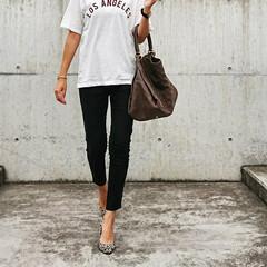 outfitoftheday/coordinate/コーディネート/ファッション/fashion/アラフォー主婦/... 『Laxus』でバッグレンタルしました❗…(2枚目)