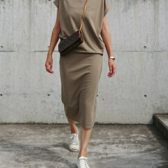 ファッション/fashion/converse/セットアップコーデ/セットアップ/長身コーデ/... 今日は晴れ間が見え、心地好いです❗ さて…