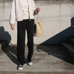 ジャケット/アウター/秋コーデ/ファッション/アラフォーファッション/アラフォーコーデ/... 長女へ買ったUNIQLOのボアフリース、…