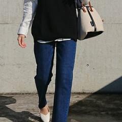 アラフォー/30代ファッション/30代コーデ/アラフォーコーデ/アラフォーファッション/シンプルコーデ/... 最近購入したヒットアイテム❗ 「UNIQ…