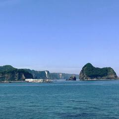 奇岩/積丹ブルー/積丹半島/北海道/おでかけワンショット/旅行/... 積丹ブルーはどこも素敵でした