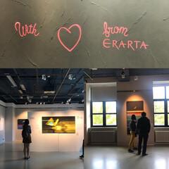 パネル/ロシア/世界初/世界/写真/質感/... 内山アキラさんの展覧会 ロシア サンクト…