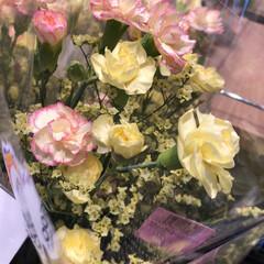 わたしのお盆/スーパーマーケット/花屋さんの花/ライフ 1、2019年8月18日、トナリエの花屋…(3枚目)