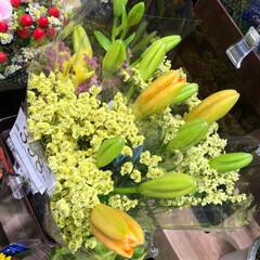 花屋さんの花/至福のひととき/スーパーマーケット/ライフ 1、2019年7月7日、トナリエの花屋さ…(7枚目)