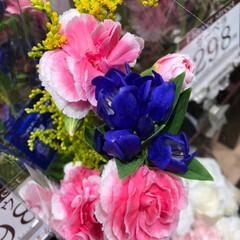 スーパーマーケット/花屋さんの花/至福のひととき/ライフ 2、2019年7月4日、トナリエの花屋さ…(8枚目)