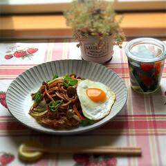 カンタン酢/WECK/ピクルス/焼きそば/おひとりさま/おうちごはん/... 6月13日木曜日☀️。 昨日のお昼ごはん…