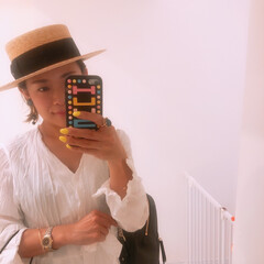 ファッション お気に入りの帽子👒仲間入り💓 CA4LA…