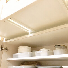 パナソニック ホームベーカリー 1斤タイプ ホワイト SD-MB1-W | パナソニック(その他キッチン、台所用品)を使ったクチコミ「食器棚の下段が、カビっぽくなってしまった…」(2枚目)