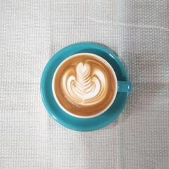 おうちカフェ/家庭用エスプレッソマシン/ラテアート トップのハートインをハッキリさせたいんだ…