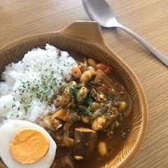 お昼ごはん/時短レシピ/鯖缶/さば缶/鯖カレー/おうちごはん/... さば缶でカレー⸜(* ॑꒳ ॑*  ) …