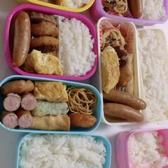 食欲の秋 この間のお出かけの日のお弁当🍱 これだけ…