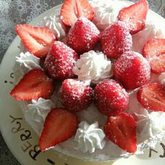 料理苦手/ショートケーキ/時短レシピ/簡単レシピ/整理収納/暮らし こちらのケーキは、 お菓子作りが苦手な私…(1枚目)