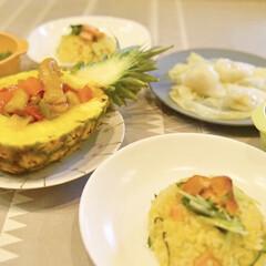 夕食/パーティー料理/お祝い料理/夜ごはん/夜ご飯/料理/... パイナップル酢豚🍍さっぱりがっつり!子ど…