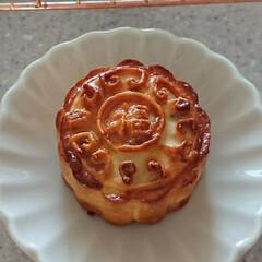 月餅/エッグタルト/中華菓子/点心 来月レッスンする点心お菓子「月餅」と「エ…(3枚目)