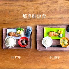 お味噌汁/ごはん/ティッシュ/手作り雑貨/お茶碗/お碗/... 昨日の秋刀魚定食に引き続き 残りのご…(5枚目)