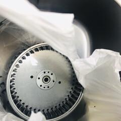 大掃除/こそうじ/生活の知恵/簡単/掃除/暮らし キッチンの換気扇のシロッコファンはすぐに…