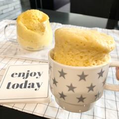 簡単レシピ/おやつ/おうちカフェ/おうち時間/マグカップ/簡単/... マグカップで超簡単に作れる マグカップも…