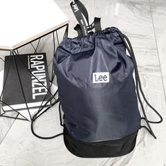 シンプルデザイン/シンプル/LEE/プール/プールバッグ/おしゃれ 少し前 長男が学校に持って行くプールバッ…