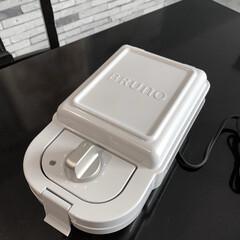 ホットサンドメーカー シングル 5枚セット | BRUNO(ワッフル、ホットサンドメイカー)を使ったクチコミ「ずーーっと 買うか悩んでいた BLUNO…」