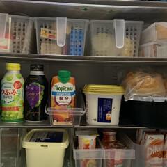 収納/冷蔵庫収納/夏対策 冷蔵庫収納  我が家は冷蔵庫+ホームフリ…(5枚目)