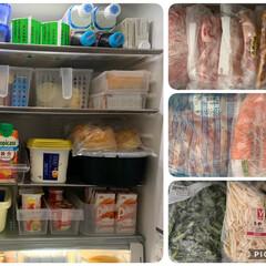 収納/冷蔵庫収納/夏対策 冷蔵庫収納  我が家は冷蔵庫+ホームフリ…(1枚目)