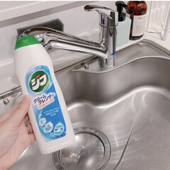クリームクレンザー ジフ 270ml | ユニリーバ(クレンザー)を使ったクチコミ「普段のキッチンシンク掃除はジフを使ってい…」