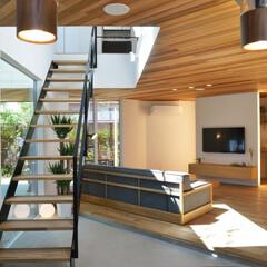 リビング/ダイニング/キッチン/LDK/間取り/家/... お客さんが来ることが多いご家族は、2階に…