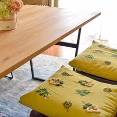 クッション/座布団カバー/座布団/手芸/刺繍/おすすめアイテム/... ダイニングテーブルの椅子に合う座布団カバ…