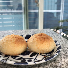 パン作り/おうち時間/stayhome/カレーパン/おうちごはん 塩パンと同じ生地でいつもお惣菜パンも作り…