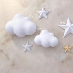 星/スター/雲/Ginaのハンドメイド/フレグランス/アロマ/... お空のテーマ🌤🌟 今から着色するよー(*…