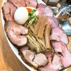 つけ麺/ピノキオ/はじめてフォト投稿 にくにくにくにく。🍖 お気に入りのつけ麺。