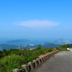 三重県/風景/はじめてフォト投稿 伊勢志摩スカイライン。道の途中でも充分き…