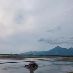 畑/磐梯山/磐越西線/JR東日本/令和元年フォト投稿キャンペーン/フォロー大歓迎/... 5/24 フルーティアふくしまという電車…