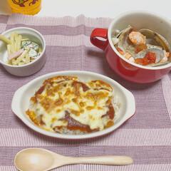 アクアパッツァ/ミートドリア/ディナー/うちの定番料理/おうちごはん ミートドリアとアクアパッツァ