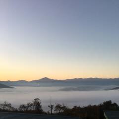 長瀞/秩父/雲/雲海/おでかけ/旅行/... 初めて雲海を見ました。(1枚目)