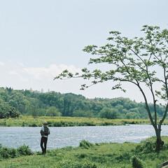 令和元年フォト投稿キャンペーン/フォロー大歓迎/LIMIAファンクラブ/至福のひととき/おでかけ/風景/... 府中の森公園の帰りに行った多摩川の景色で…(1枚目)