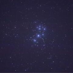 スバル/プレアデス星団/6dmark2/eos/Canon/新体操/... 寒空の中、星空撮影をしながらちょっとした…