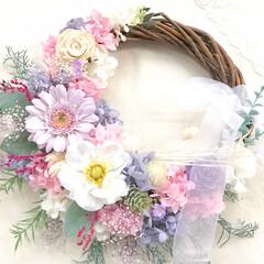 ウェディング/結婚式/花嫁/リースブーケ/ウェディングブーケ/プレ花嫁/... 明けましておめでとうございます。 昨年は…