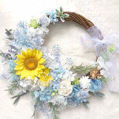 ギフト/お祝い/結婚祝い/ウェディングアイテム/ウェディング/ウェディングブーケ/... . .*・  夏の結婚式やインテリアギフ…