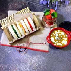 ランチボックス/お弁当/ランチ/お弁当箱/おしゃれ弁当箱 ♡ ♡  gooⒹ 𝓜ᗝя𝐍Į𝕟Ꮆ  お…(1枚目)