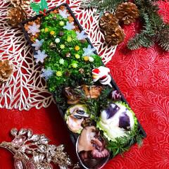 クリスマス2019/リミアの冬暮らし/お弁当/ハンドメイド/暮らし/フォロー大歓迎 ໒꒱  ଘ♡ଓ*:゚+。.໒꒱°*。⋈。…(1枚目)