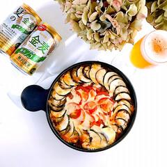 サントリー 金麦 糖質75%オフ 缶 350ml x 48本(国産ビール)を使ったクチコミ「おはようございます☀ ・ ・  おう…」